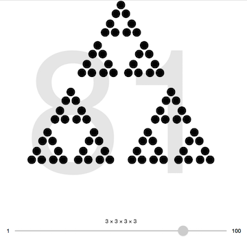 math visualization using d3